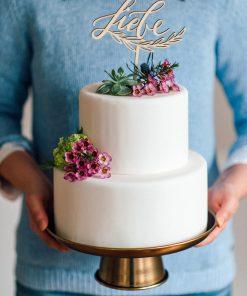 Cake Topper Liebe Hochzeit