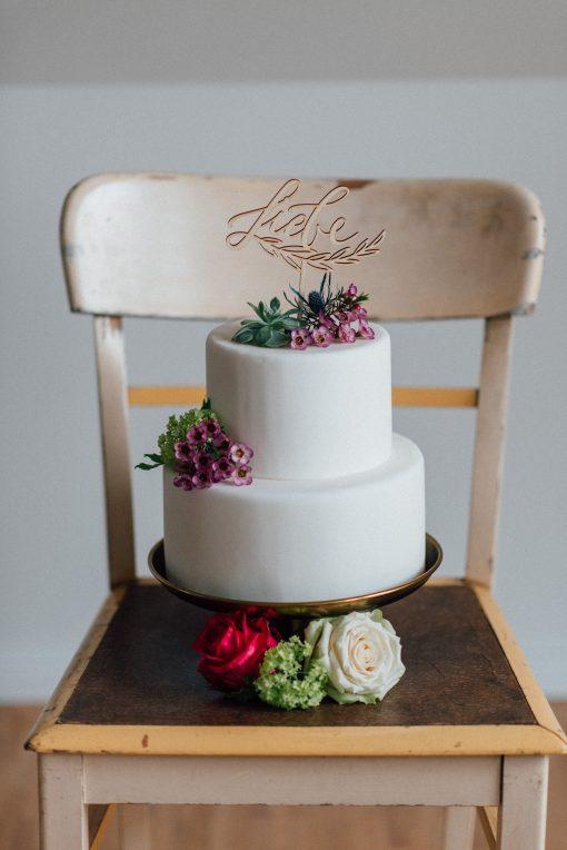 Tortenfigur Hochzeit Liebe