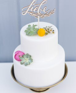 Cake Topper Liebe