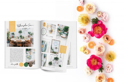 Hochzeitsmagazin The little Wedding Corner - Tischdeko-Spezial