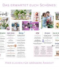 Hochzeitsmagazin und Hochzeitsratgeber The little Wedding Corner Inhaltsverzeichnis