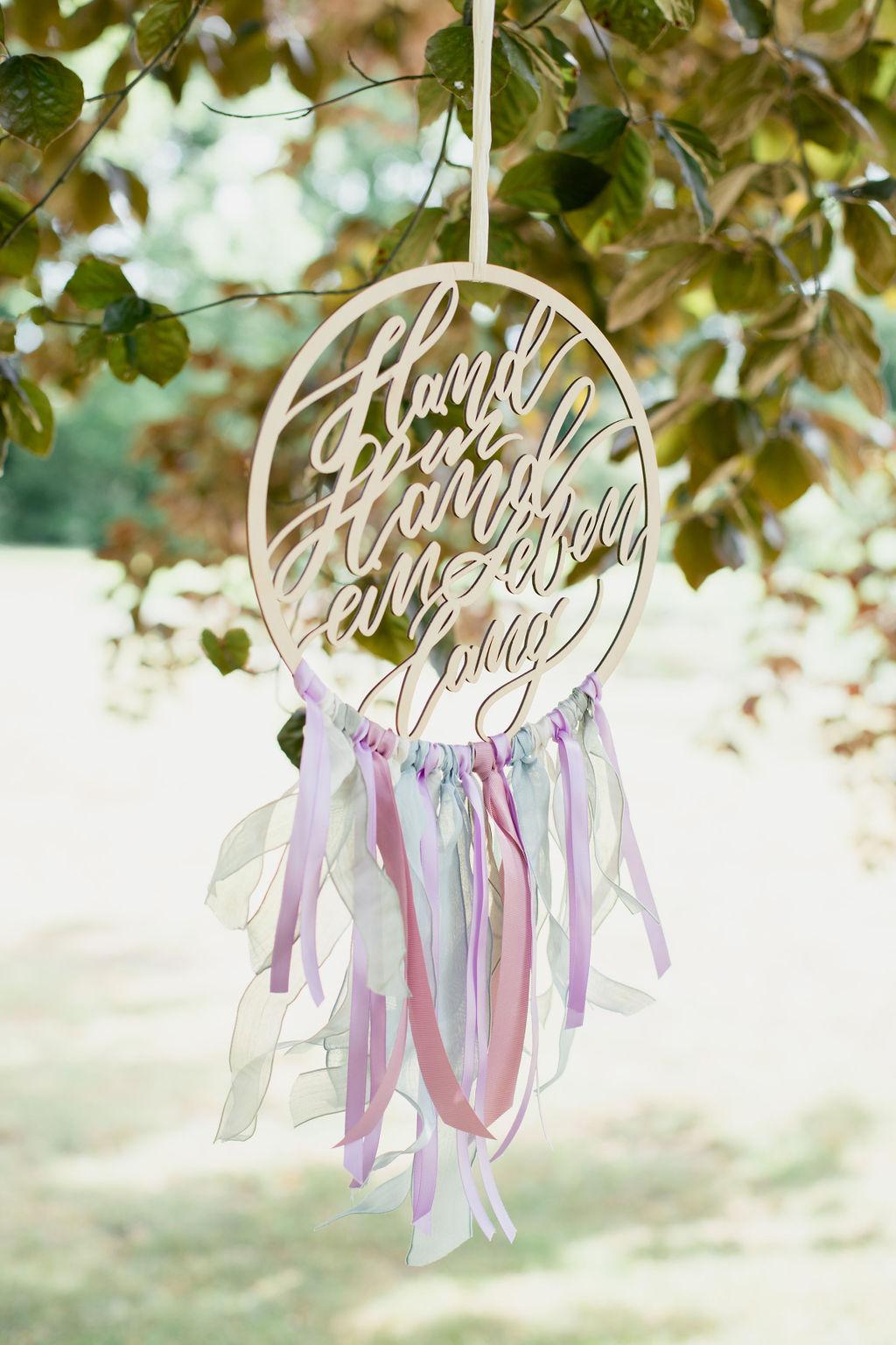 Hochzeitsschild