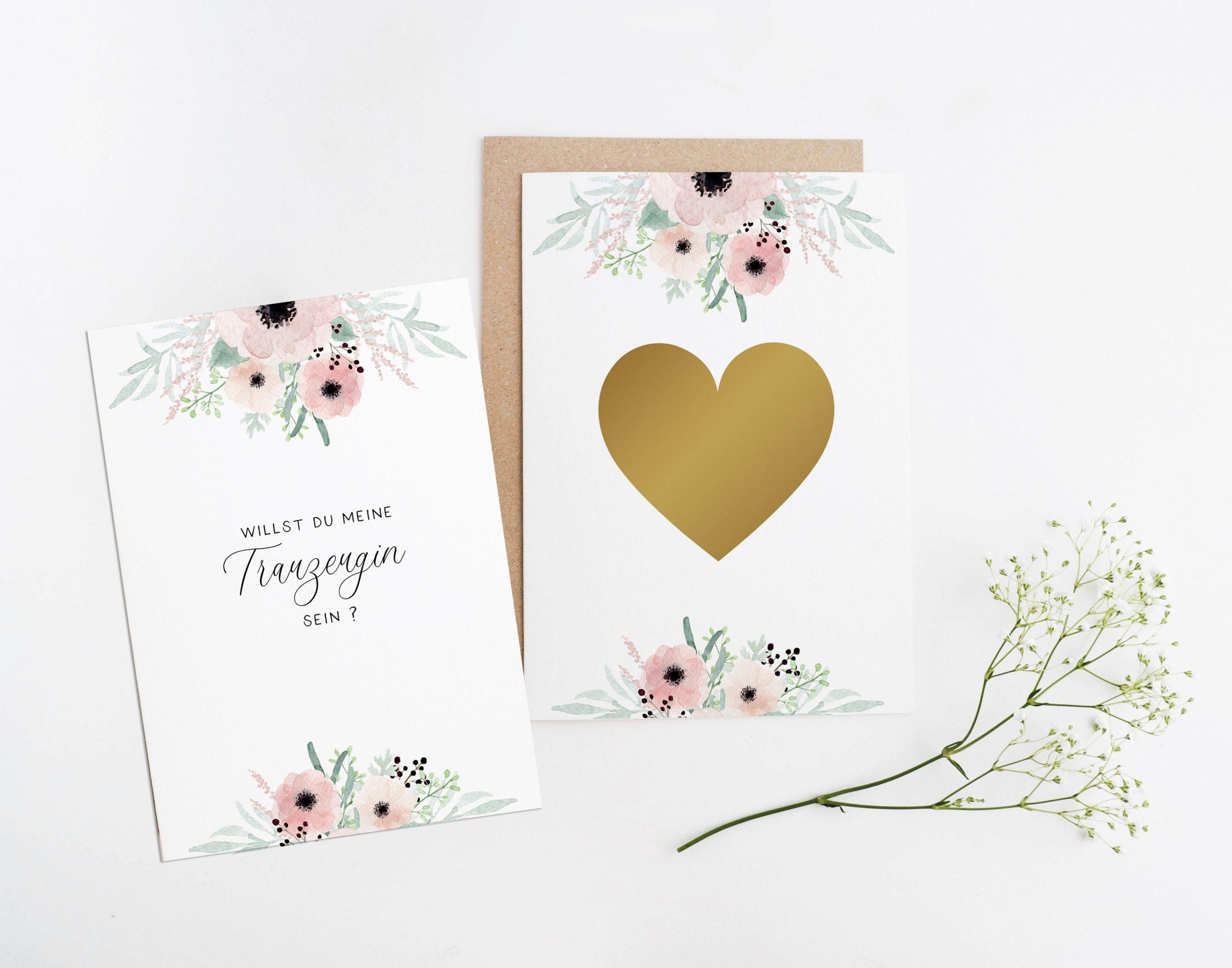 Hochzeit Braut Br/äutigam Ehe Flitterwochen Hochzeitsplanung Postkarte Trauzeugenkarte Karte Schl/üsselanh/änger Frage Job als Trauzeugin zu vergeben
